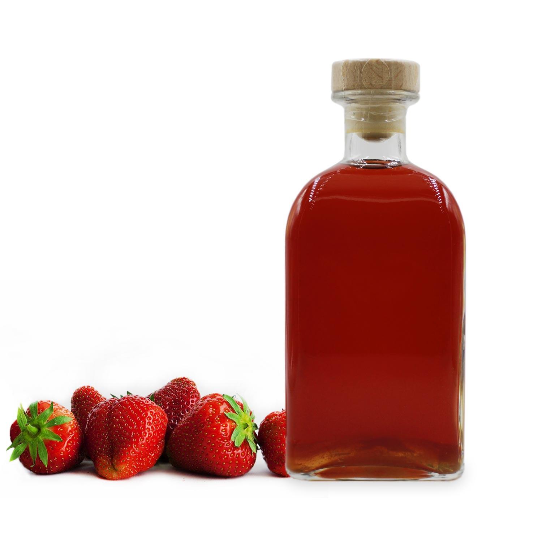Rhum arrangé fraise
